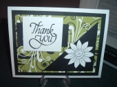 A thank you card! by