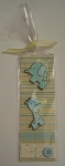 Baby Shower Bookmark by