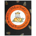 Peek-a-Boo Pumpkin Card by