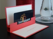 Pop Up Gift Card Holder by