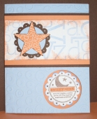 Sweet One Baby card by