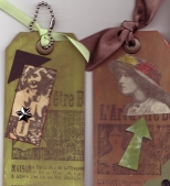 Tags Inspired by Tim Holtz's Blog by