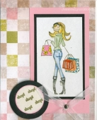 Couture Bella Shopping Card by JessicaLynn by