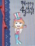 4th Of July digi stamp by