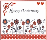 Anniversary card by