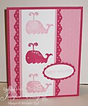 Animal Stories Baby Card by