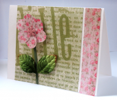 Baby Girl Card by