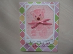 baby shower card by