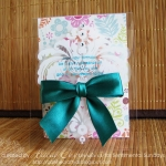Clear Birthday Card by