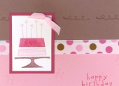 Eat Cake Birthday Card by