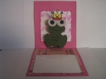 Inside of birthday card by