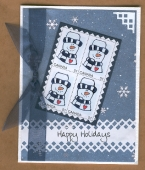 Faux Postage Swap Card by