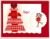 Elzybells winter hello by