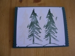 Christmas tree card class by