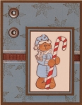 Candy Cane Bear 2 by
