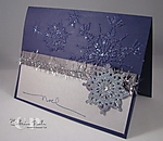 Purple Snowflakes by