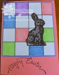 Happy Easter grid by