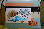 Card for my dad. by