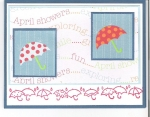 April Showers Cards by