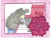 Gruffie Playing Piano by
