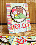 Gnome Hello Card by