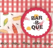Bar-B-Que Card by