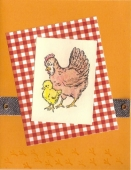 Chicken Card by