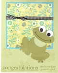 Frog Punch Card by