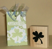 lucky me st. patricks day treat box/bag by