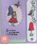 Get well soon bookmark/card by