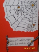 Halloween card by