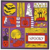 Outlines Halloween Collage Stamp Challenge by