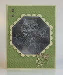 Soot Stamped Masculine card by