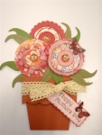 Mother's Day flowerpot pocket Card by