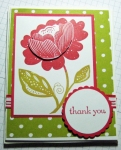 Thank You card by
