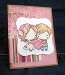 Anya & Ian Valentine Card by