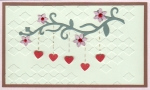 Hanging hearts by