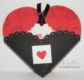 Heart Pocket Card by