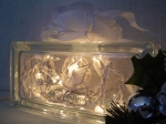 Gifts of Christmas Glass Block Luminary by