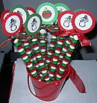 Christmas Candy Tubes by