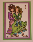 Mother and Daughter ATC by