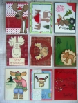 Merry Christ-Moose ATC swap by
