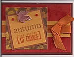 Colors of Autumn ATC by
