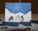 snow penguins by