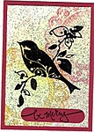 Speckled Bird ATC by