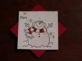 Snowman Tags 3 of 3 by