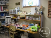 My MESSY Stamp Room! by