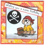 Another Pirate Puppy card. by