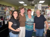 Joanie meets Debbie, Heather, and Tami!!! by