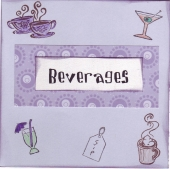beverage recipe divider by